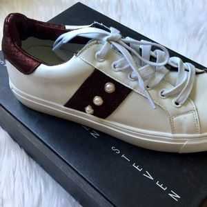 b766a9ab1a4 NIB Steven By Steve Madden Beaded Low Top Sneakers NWT